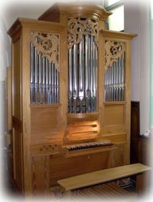 函館教会のオルガン